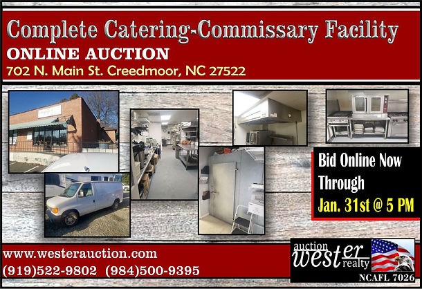 Complete Catering Commissary Facility Au