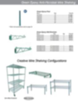 Restaurant Equipment Wire Shelvng