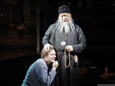 Премьера спектакля «Лавр»  в Московском художественном театре им. Горького