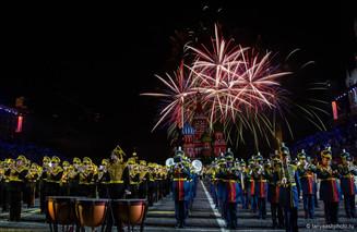 «Спасская башня» гремит оркестрами