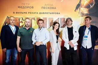 Презентация фильма ЛЕТЧИК Рената Давлетьярова состоялась на МАКС-2021 в павильоне Checkmate