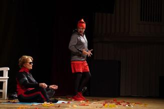 Ирина Алфёрова, Юрий Чернов, Антон Эльдаров и Александр Тютин в спектакле «Ещё не вечер»: «Мы со вре