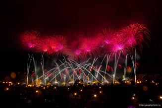 В Братеево прошел фестиваль фейерверков