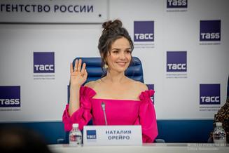 Наталия Орейро попросила у Путина российский паспорт
