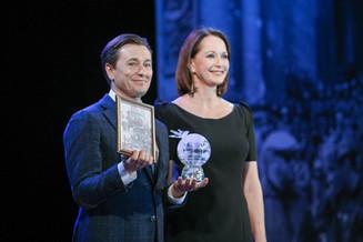 Сергей Безруков получил премию Международного фестиваля военного кино им. Ю. Н. Озерова за актерское