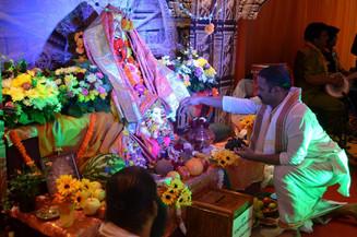 Фестиваль бога Ганеши прошел в Москве