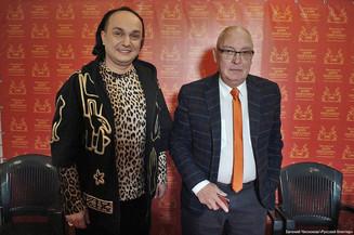 Гия Эрадзе и Максим Никулин представляют шоу «Бурлеск»