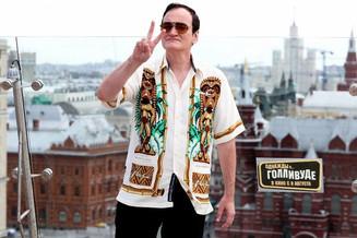 Легендарный режиссер Квентин Тарантино приехал в Москву