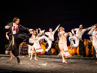 «Гоголь. Диканька» в театре Эрмитаж