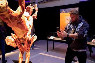 В Москве состоялся специальный показ международной выставки BODY WORLDS