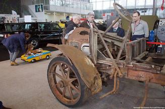 Ежегодная выставка ретроавтомобилей «Олдтаймер-Галерея»