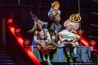 «Кабы я была царица...» - новогоднее представление в цирке Вернадского