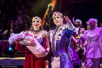 Цирковое шоу «Царевна-Несмеяна» откроет дверь в сказку и зарядит надолго позитивом!