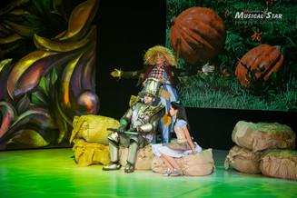 «Изумрудный город» — детский музыкально-цирковой спектакль