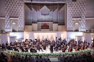 Прошел концерт «Россия – миру»