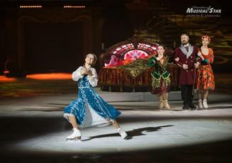 «Аленький цветочек» - мюзикл-сказка  на льду