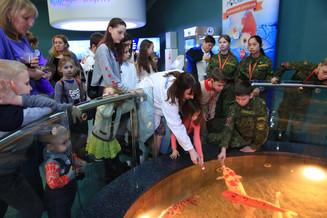Дети героев посетили «Москвариум» на ВДНХ