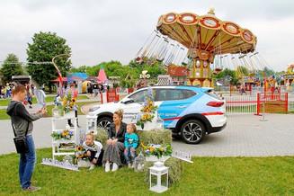 АвтоСпецЦентр Hyundai встретил лето веселым пикником в семейном парке «Сказка»