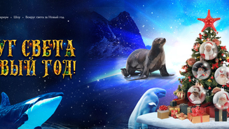 В «Москвариуме» на ВДНХ покажут новогодний мюзикл с морскими животными и цирковыми артистами