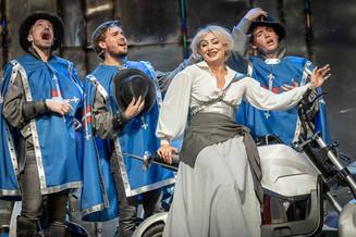 «Три мушкетёра» в Московском музыкальном театре