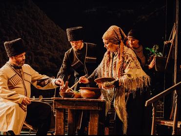 Кавказская пленница или «Мачеха Саманишвили», Пермский театр «У Моста»