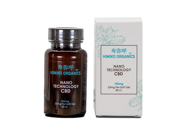 Nanotechnology CBD Softgels 750mg