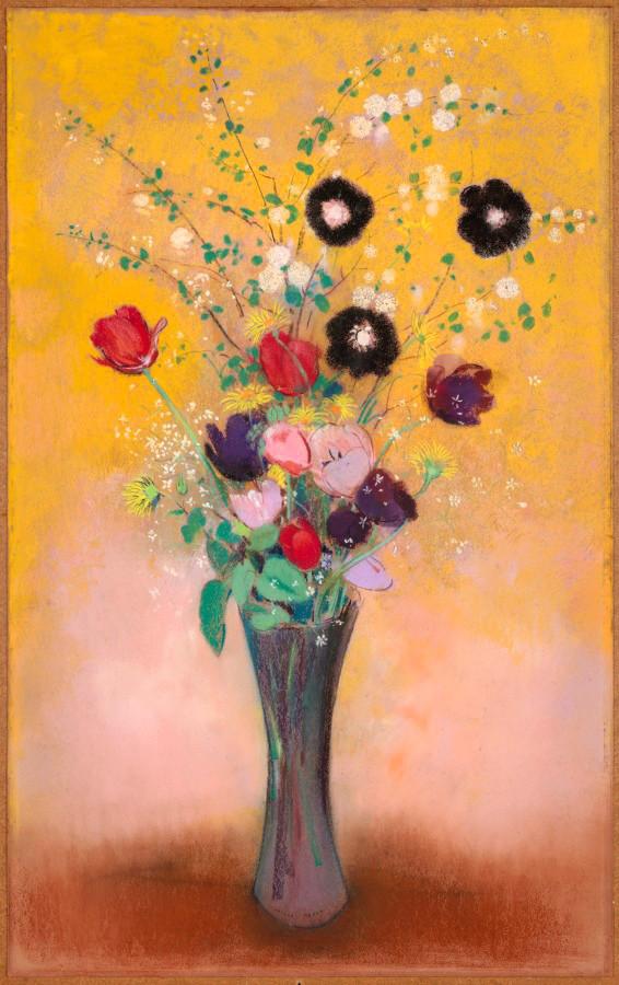 Flores, Odilon Redon