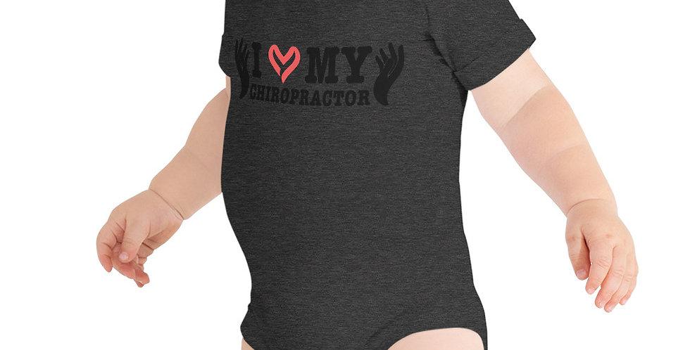 Love My Chiropractor Onesie T-Shirt