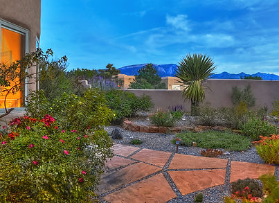 Custom home-building decisions - patios, gardens, landscaping, pavers