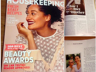 Discover My Mother in                          Good Housekeeping!