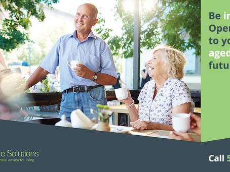 Talking to your parents about aged care