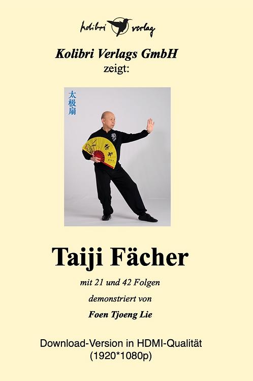 Taiji Fächer 21er und 42er Form