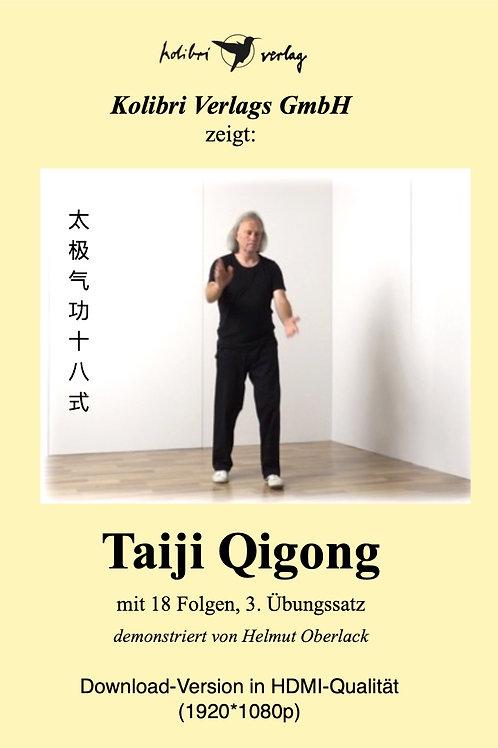 Taiji Qigong mit 18 Folgen, Übungssatz3