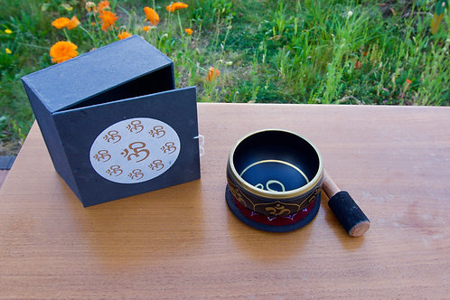 Tibetische Klangschale Geschenkset