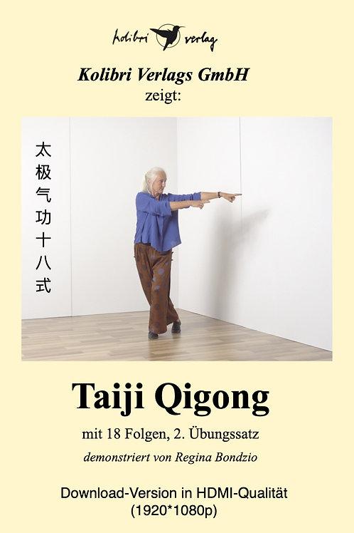 Taiji Qigong mit 18 Folgen, Übungssatz 2