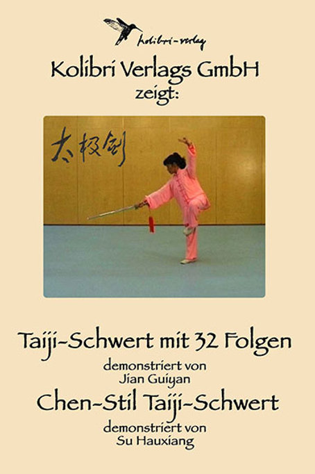 Taiji-Schwert und Chen-Stil Taiji-Schwert
