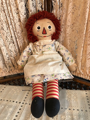 Raggedy Ann, Georgene, Black Outline Nose