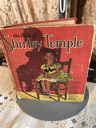 Book, Shirley Temple, The Story of Shirley Temple Saalfield
