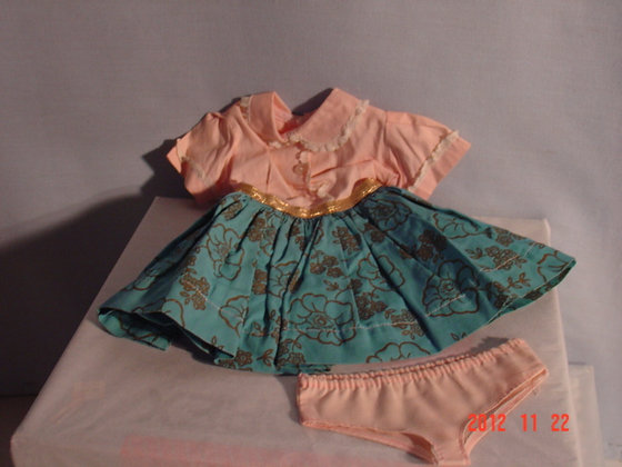 "Toni Doll collectible Dress 18"", 1950's, very good"