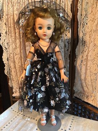 Miss Revlon in black formal, all original
