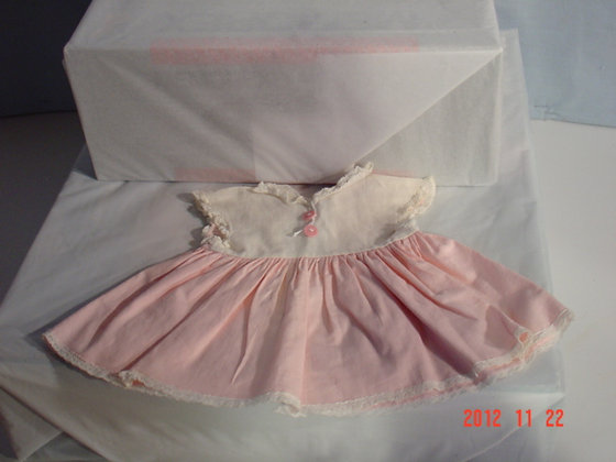 "Tiny Tears Orig. Dress 16"" Very Good collectible"