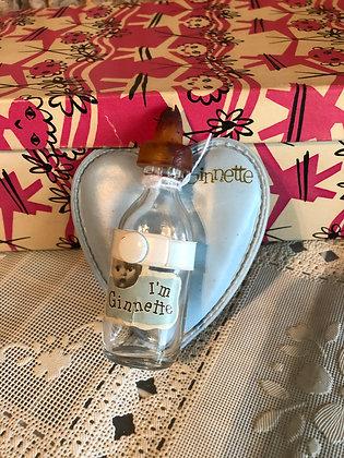 Ginnette Bottle and Bottle Holder