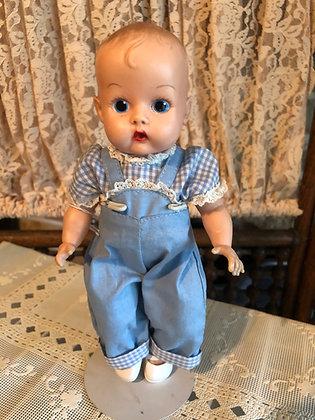 Ginnette Doll in Bib Overalls PE