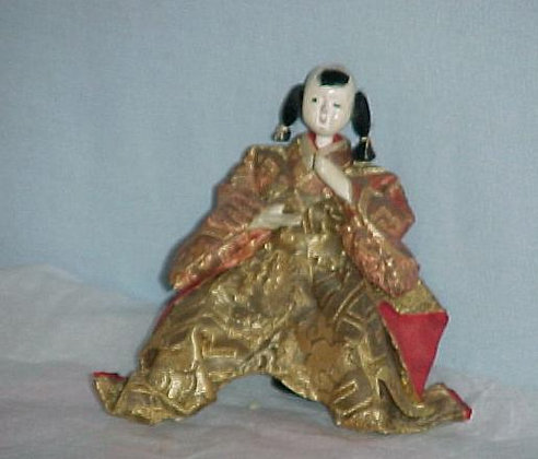 Antique Japanese Man 5""