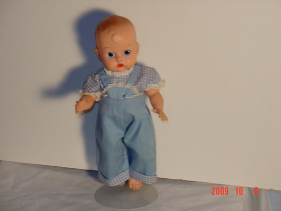 """Ginnette Doll, 8"""", 1950's all original collectible"""