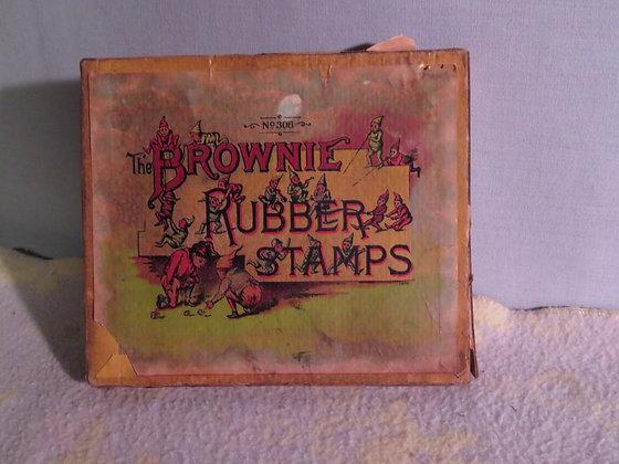 Palmer Cox Brownie Stamp Set