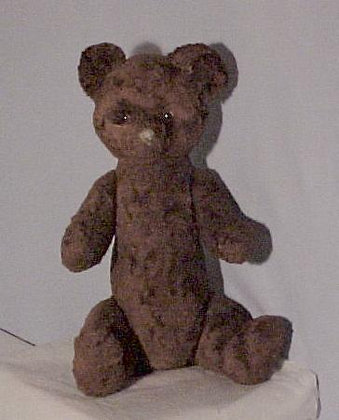 Antique Brown Teddy Bear 19""