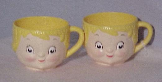 Campbell Kids Cups, 1960's collectible