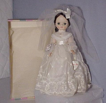 Effanbee Bride - Miss Chips 1965 collectible