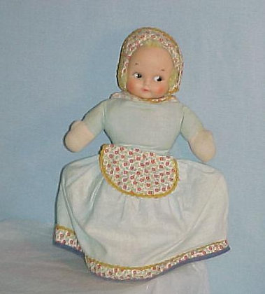 Topsy-Turvey Collectible Doll, Happy or Sad